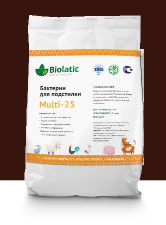 Бактерии для подстилки Multi-25