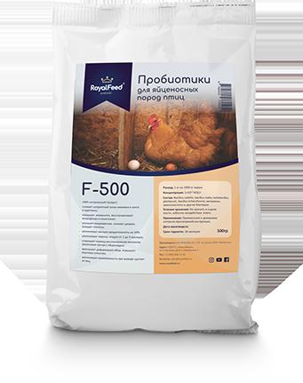 Пробиотики для яйценосных пород птиц F-500 RoyalFeed (500 г)
